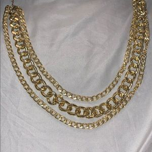 Accessories - Gold 3 layers necklace